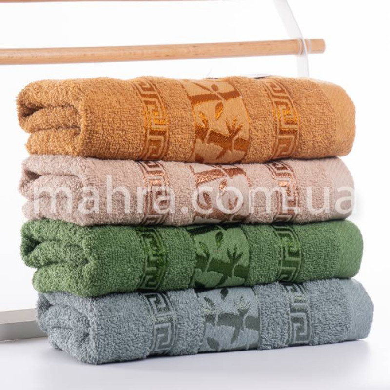 Рушники версаче бамбук - фото 2