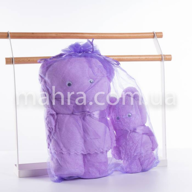 Набор полотенец мишка - фото 8