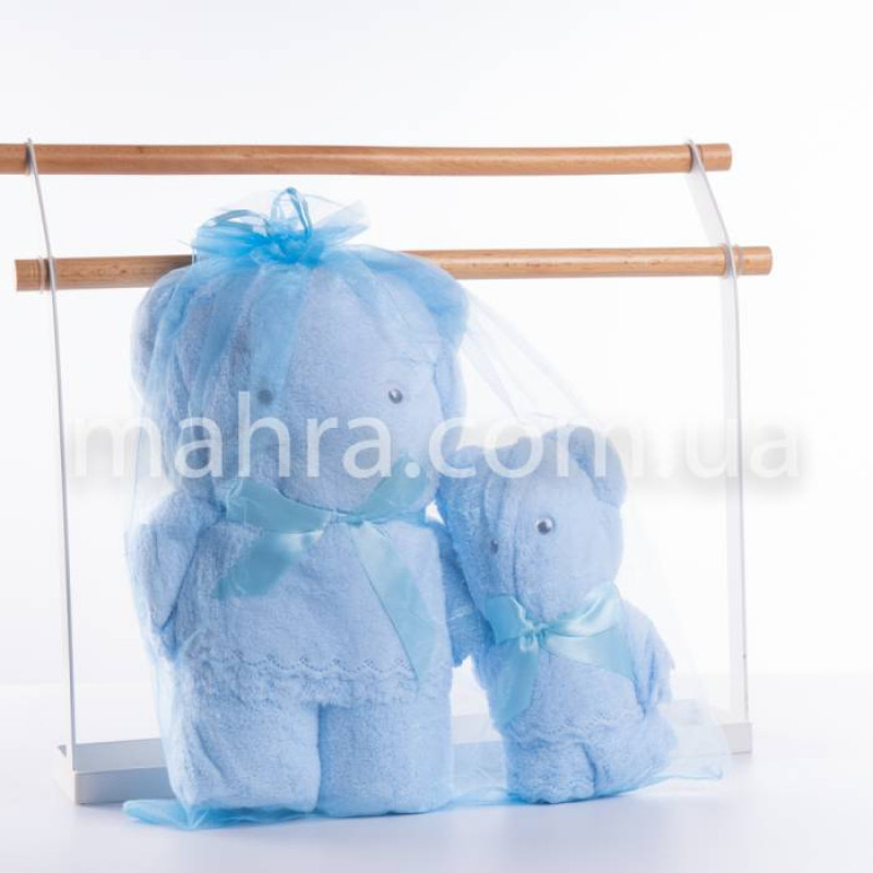 Набор полотенец мишка - фото 10