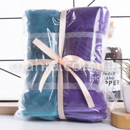 Набор с 2-х полотенец микрофибра - фото 2