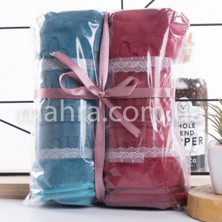 Набор с 2-х полотенец микрофибра - фото 4
