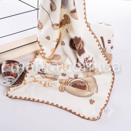 Полотенца микрофибра плюш Кофе - фото 2