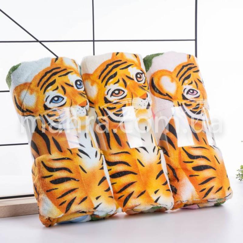 Рушники мікрофібра тигр/дерево - фото 2