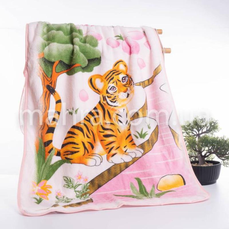 Рушники мікрофібра тигр/дерево - фото 3