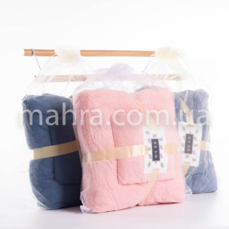 Набор полотенец в мешочке - фото 4