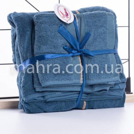 Набір махрових рушників в сумці - фото 6