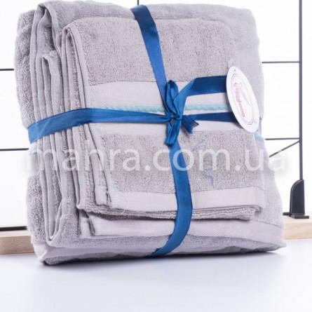 Набір махрових рушників в сумці - фото 2