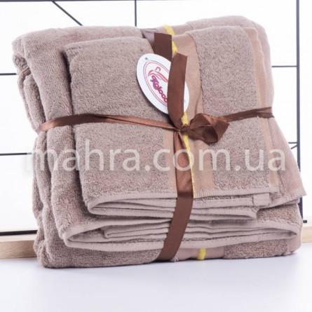 Набір махрових рушників в сумці - фото 7