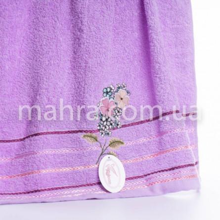 Рушники бузок і квіти - фото 3