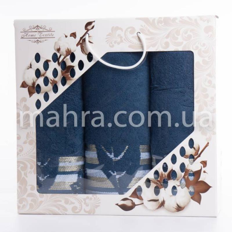 Набір рушників махровий лист - фото 1