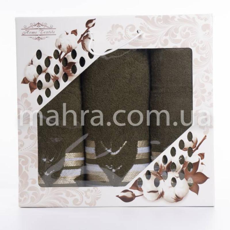 Набір рушників махровий лист - фото 3