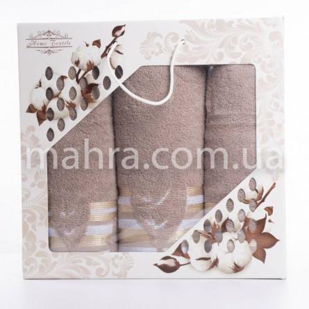 Набор полотенец махровый лист - фото 5