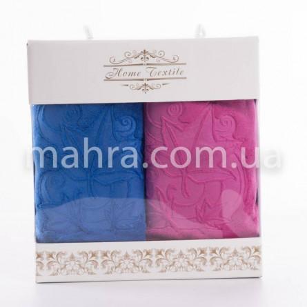 Набор полотенец кленовый лист микрофибра - фото 2
