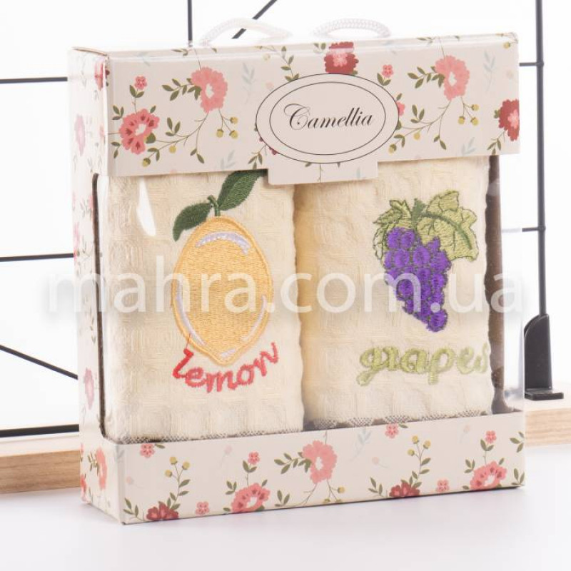Набір вафельних рушників Фрукти - фото 2