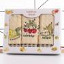 Набір вафельних рушників Фрукти 3-ка - фото 1