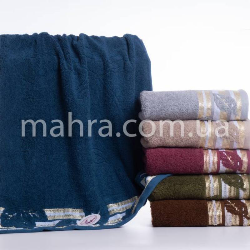Полотенца махровый лист - фото 1