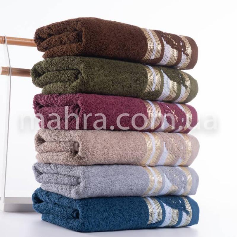 Полотенца махровый лист - фото 2