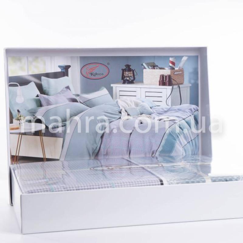 Комплект постільної білизни Koloco butterfly  - фото 1