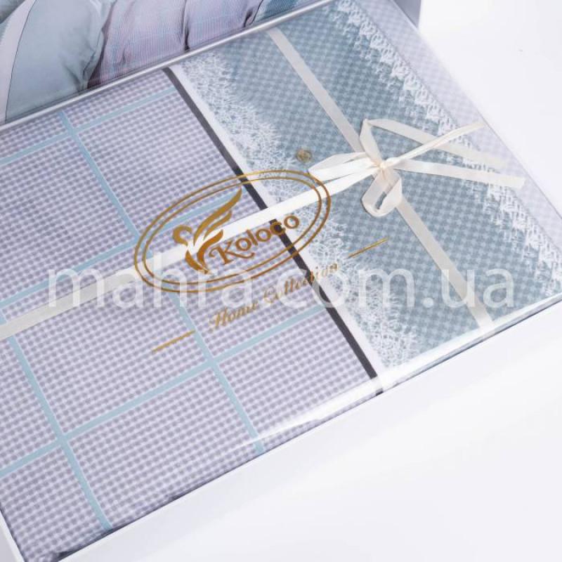 Комплект постільної білизни Koloco butterfly  - фото 2