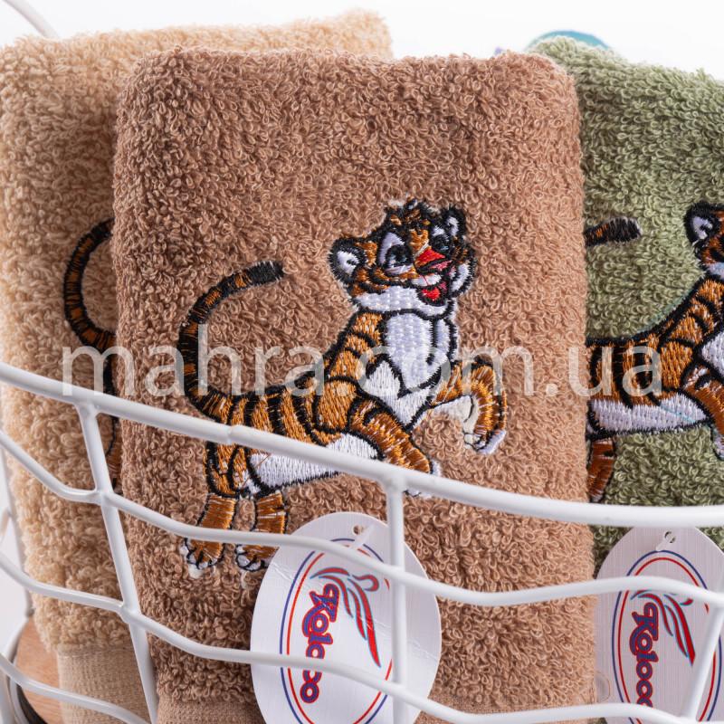 Полотенца Тигр однотонный нюд - фото 4