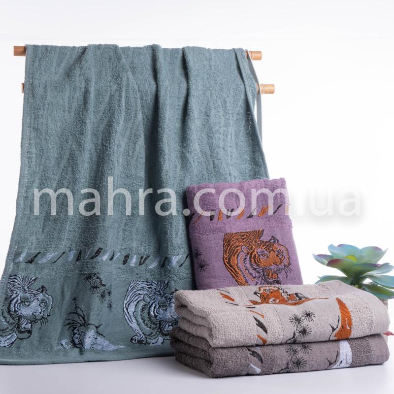 Полотенца Тигр белый - фото 1