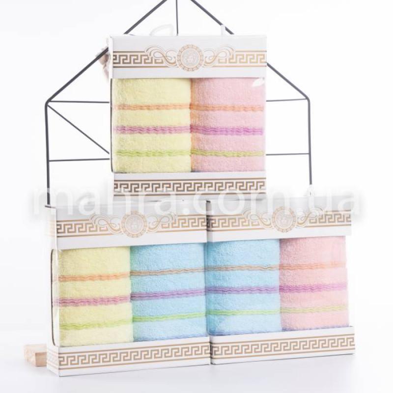Набор полотенец волнистые полосы - фото 1
