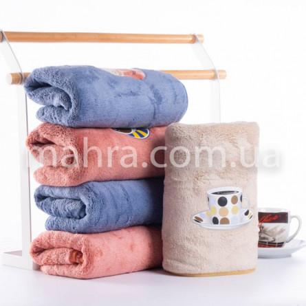 Полотенца микрофибра кофе - фото 1