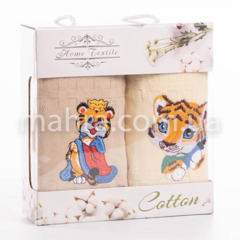 Набор вафельных полотенец Тигр - фото 1