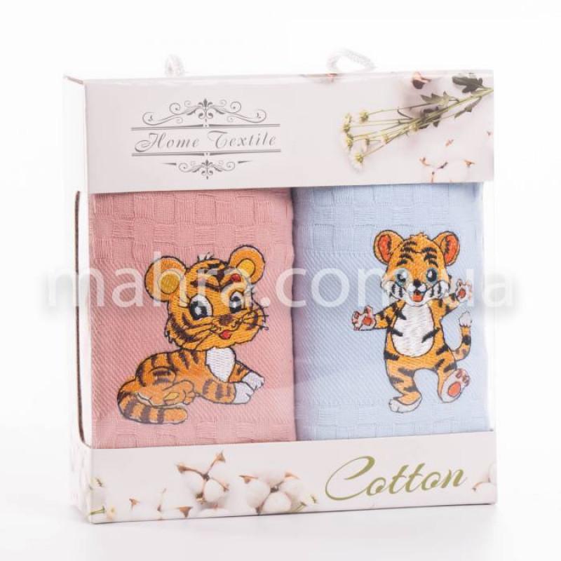 Набор вафельных полотенец Тигр - фото 2