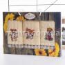 Набір вафельних рушників Тигр 3-ка - фото 1