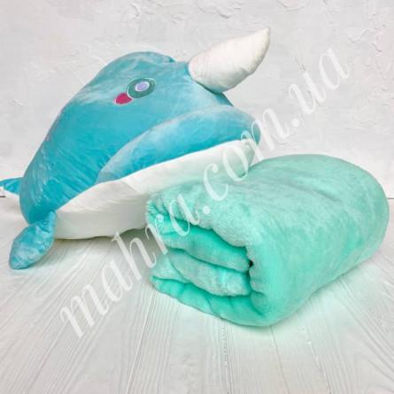 Плед дитячий дельфін - фото 3
