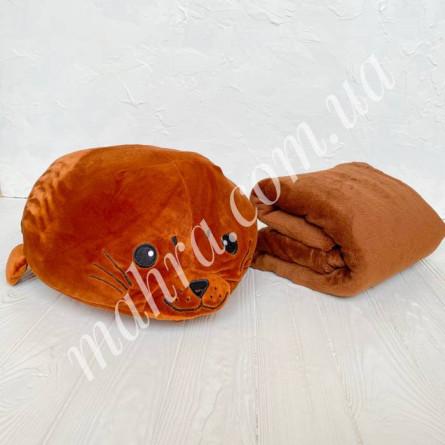 Плед детский кит - фото 2