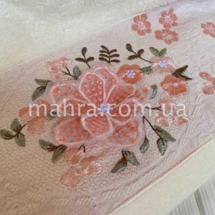 Полотенца объёмный цветок - фото 6