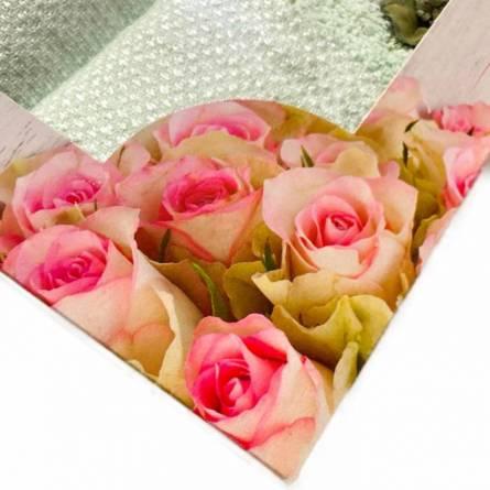 Набор полотенец цветы - фото 5