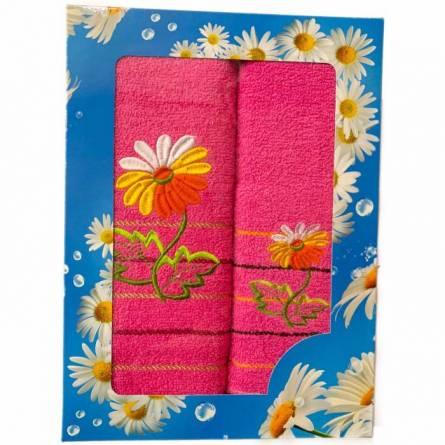 Набор полотенец ромашка - фото 2