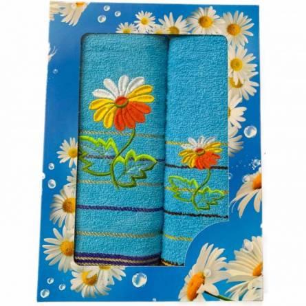 Набор полотенец ромашка - фото 3