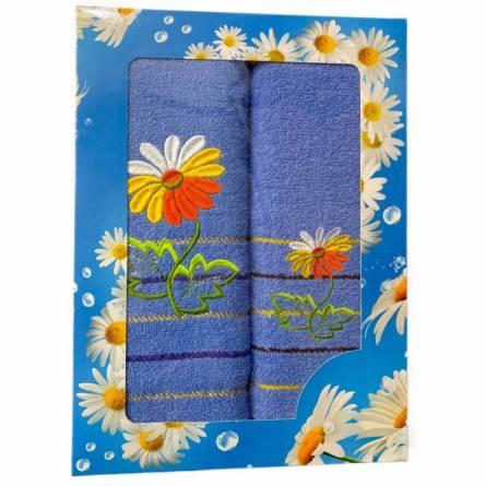Набор полотенец ромашка - фото 4