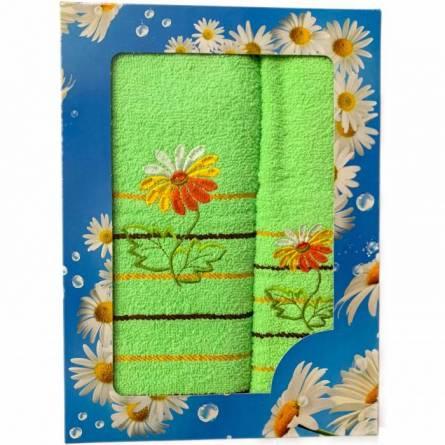Набор полотенец ромашка - фото 5