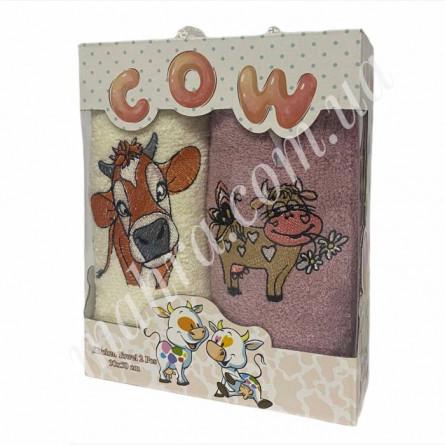 Набор полотенец корова 2 - фото 2
