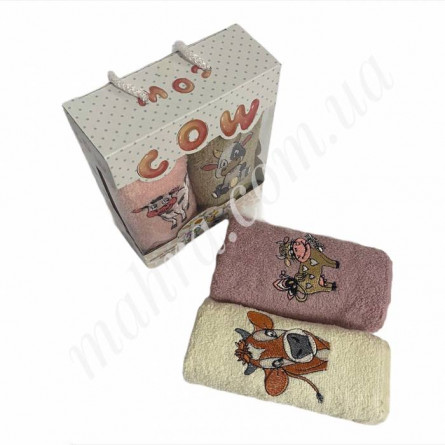 Набор полотенец корова 2 - фото 4