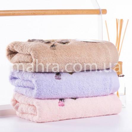 Полотенца фиалки объемные - фото 3
