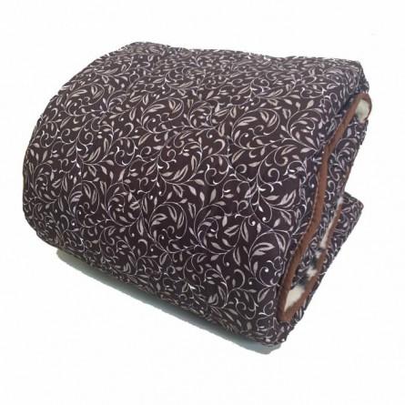 Одеяло меховое вензель - фото 1
