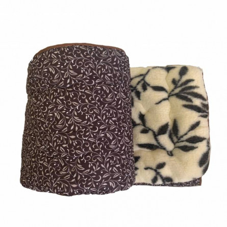 Одеяло меховое вензель - фото 2