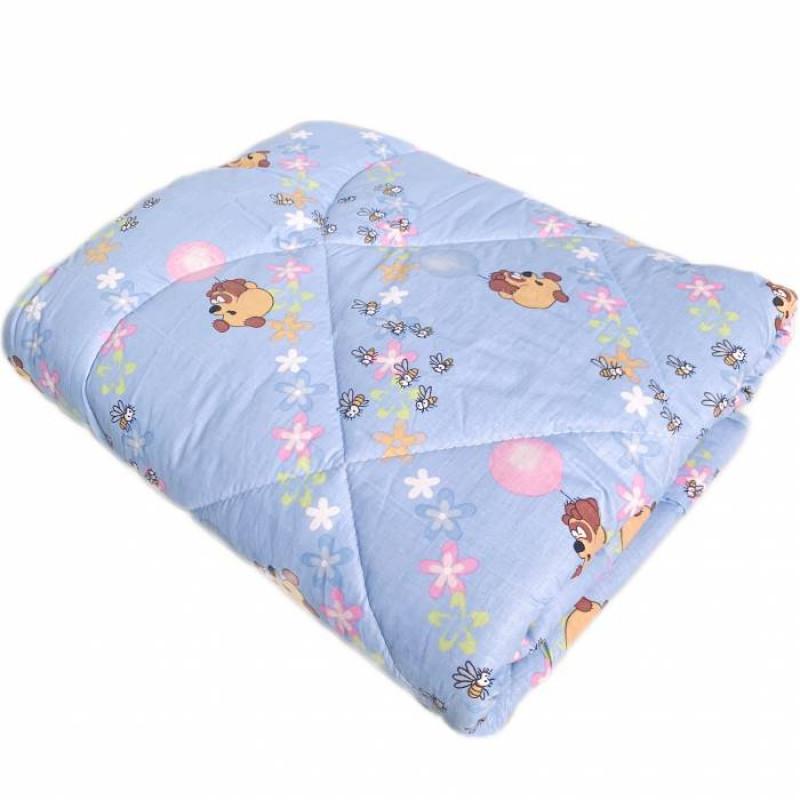 Одеяло детское шерстяное цветное - фото 1