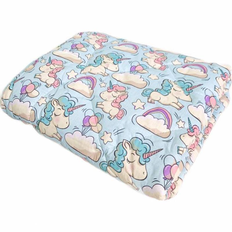 Одеяло детское шерстяное цветное - фото 2