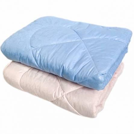 Одеяло детское шерстяное однотонное  - фото 1