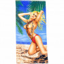 Полотенце пляжное Девушка 02 - фото 2