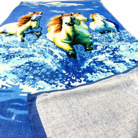 Пляжний рушник Коні  - фото 2