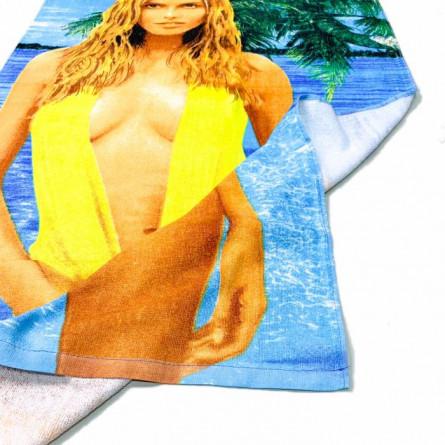 Полотенце пляжное Девушка 02 - фото 4