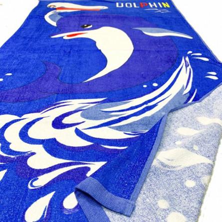 Пляжні  рушники велюр Дельфін - фото 2